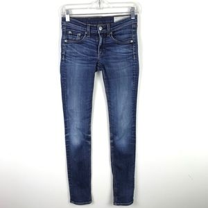rag & bone Skinny Low Rise Jeans #330